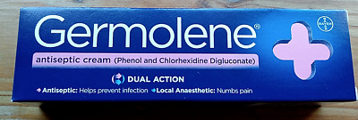 GERMOLENE Antiseptic Cream TWIN PACK with Local Anaesthetic 30g