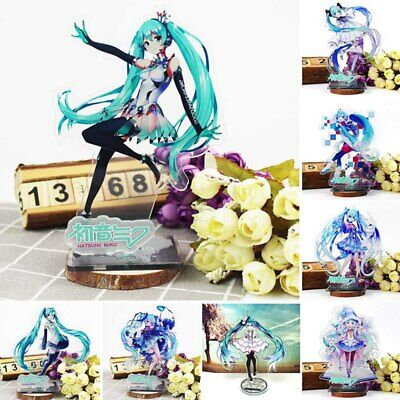 Anime Vocaloid Hatsune Miku Action Figure Toy Mini Doll Cosplay Collectable Gift