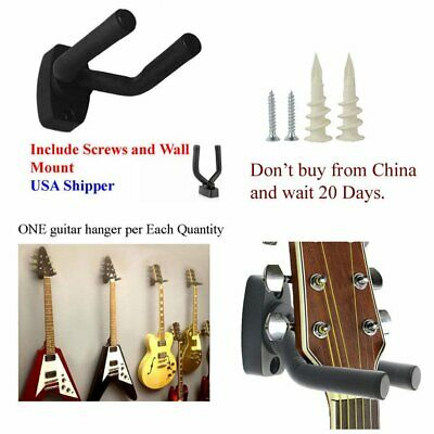 Guitar Hanger Stand Holder Wall Mount Display Acoustic Electric Guitar MR