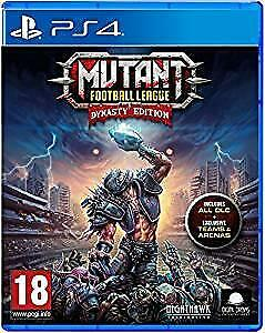 Mutant Football League - Dynasty Edition for the PS4 / PlayStation 4