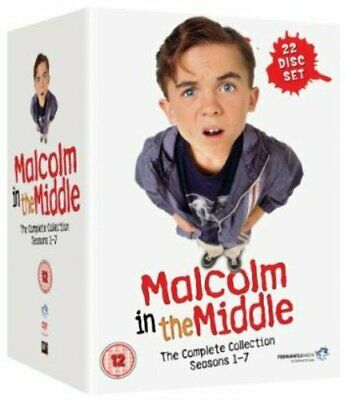 Malcolm In The Middle Complete Series Season 1-7 Collection DVD Boxset New R2