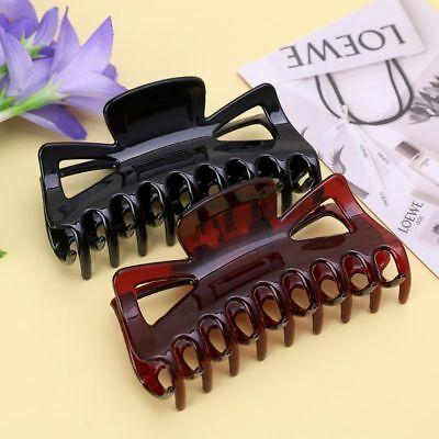 Large Hair Clamps Claws Clip Lady Female Casual Big Barrette Crab Hair Claw 11cm