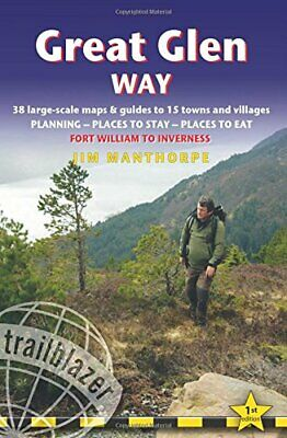 Great Glen Way 38 Large-Scale Maps  Guides to 15 Towns and Villages - Planning