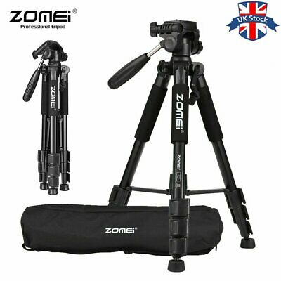 UK Zomei Q111 Professional Heavy Duty Aluminium Tripod&Pan Head for DSLR Camera