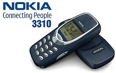 NEW CONDITION Nokia 3310 - Blue (Unlocked) Mobile Phone +12 MONTHS WARRANTY