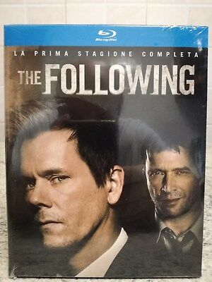 The Following - Stagione 1 (3 Blu-Ray Disc) Nuovo e Sigillato