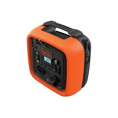 BLACK+DECKER Black & Decker ASI400-XJ 11.0 BAR/12V COMPRESOR/AIR 160PSI TYR... .