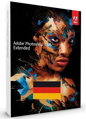Adobe Photoshop Extended CS6 Deutsch / WIN / Vollversion