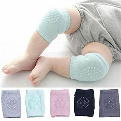 Safety Crawling Knee Elbow Pads Leg Protector Anti-Slip Baby Infant Toddler O6S0