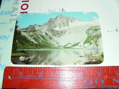 COLORADO CO SNOWMASS Lake Aspen Postcard Old Vintage Card