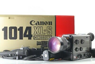 【UNUSED in BOX】 Canon 1014 XL-S Super 8 8mm Film Movie Camera From Japan 293