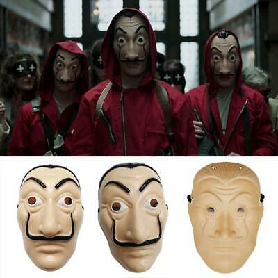 Halloween Masks Salvador Dali Money Heist The House of Paper Casa De Papel Gifts