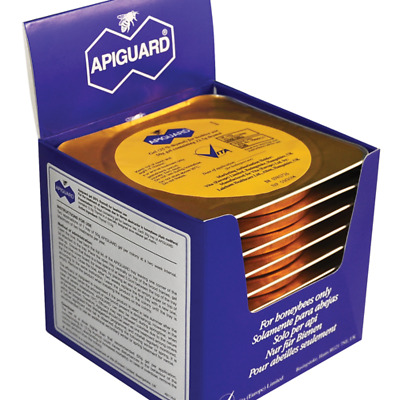 APIGUARD treatment natural for the treatment of bees - 10 pieces