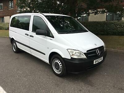 Mercedes-Benz Vito 2.1 113CDI BlueEFFICIENCY Traveliner Compact Bus 5dr (EU5, 8