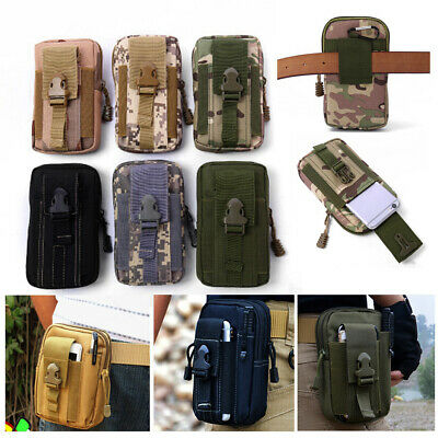 Accessories Belt Waist Bag Small Pocket  Tactical Molle Pouches Military Pack