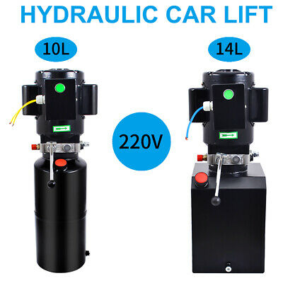 2.64/3.7 Gallon Single Acting Hydraulic Pump Dump Trailer Unloading Car Lift
