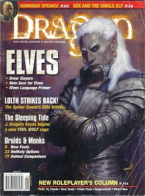 DRAGON MAGAZINE 279  Forgotten Realms Price includes delivery in UK