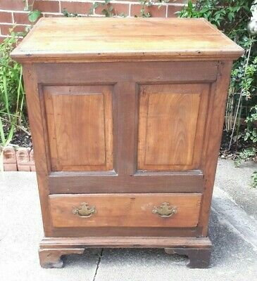 Antique 18th  Century Solid  Oak Mule Chest Coffer DELIVERY POSSIBLE