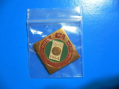1964 Olympic Games Tokyo Original USSR CCCP RUSSIA Collectible Pin Button RARE!!