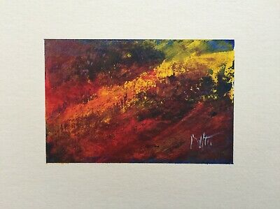`Winter on Kerry Ridge` An Original Signed Painting in a Mixed Medium.