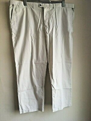 BNWT New Marks Spencer M&S Trousers - Cotton Chinos with Stormwear 50W 29L