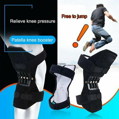 1 Pair Patella Booster Spring Knee Brace Support for Mountaineering Squat Sport
