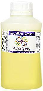 Brazilian Orange Intense Food Flavouring (500 ml)