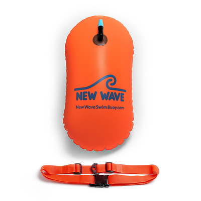 Wave Swim Bubble for Open Water Swimmers and Triathletes - Swim Safety Buoy