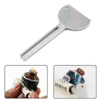 Stainless Tube Toothpaste Squeezer Key Dispenser Wringer Squeeze Easy Tool W2X0