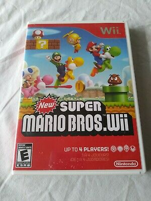 New Super Mario Bros. Wii (Nintendo Wii, 2009) **BRAND NEW**  **SEALED**