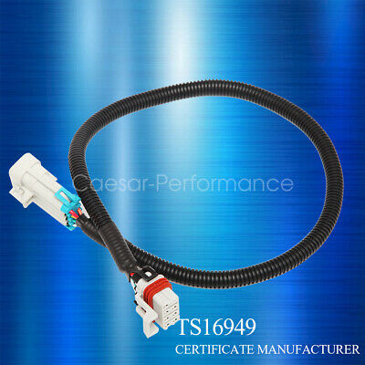 "NEW PAIR LS1 Coil Extension Relocation Cables 36/"" LS2 LS3 LS6 Wiring Chevy"