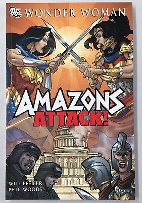 Wonder Woman Amazons Attack DC TPB Will Pfeifer Pete Woods Justice League VF+