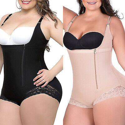 Women Full Body Shaper Corset Bodysuit Slim Shapewear Waist Trainer Plus Size