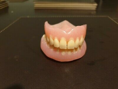 False Teeth Dentures - Full Set Upper And Lower In New Unused Perfect Condition