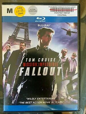 Mission Impossible: Fallout (Blu-ray 2 Disc 2018)