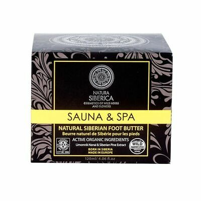 Natura Siberica Sauna & SPA Siberian Foot Butter 120ml Active Organics