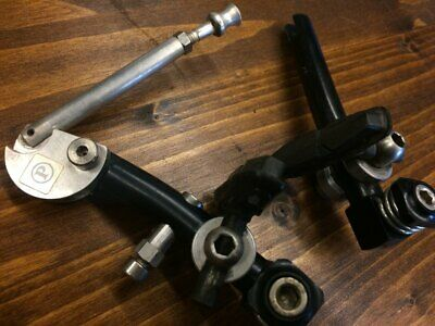 VINTAGE CODA CANTILEVER MTB brake set with hardware and Ritchey