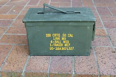 50 cal ammo can empty