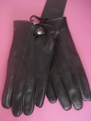Lauren The Gloves Polo Leather Ralph Grey Mens Touch Black New Wool OXZikPu