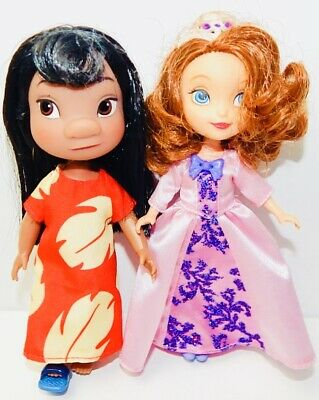 Disney Animators Collection Lilo /& Stitch Mini Doll Play Set 5 Inch