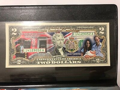 Banknote 2013 USA $2 Prince George of Cambridge in pack  (3291848E5)