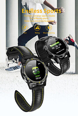 Smart Watch Bluetooth Waterproof Blood Pressure Heart Rate new For iOS & Android