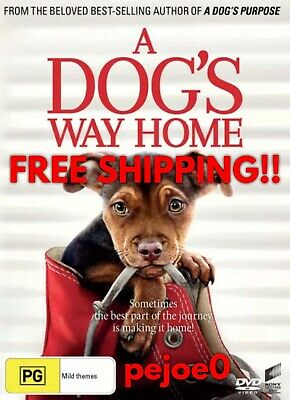 A Dog's Way Home DVD Reg 4 FREE POST! (2019) New! Sealed!