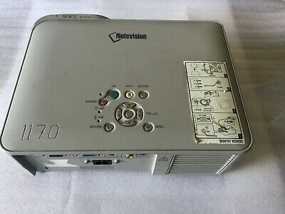 Notevision Sharp LCD Projector Model : PG-B10S