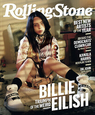 Billie Eilish - Rolling Stone Magazine - August 2019 - New - No Mailing Label