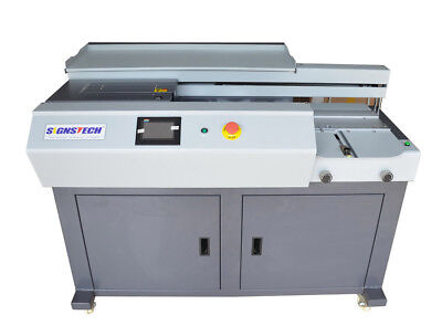 New A4 Automatic Perfect Binding Machine With Side Gluing,EVA Paper Book Binder