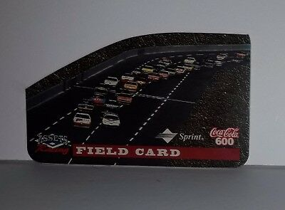 Field Card Coca-Cola Interact. Die-Cut Racing (Coke 600) Phone Card