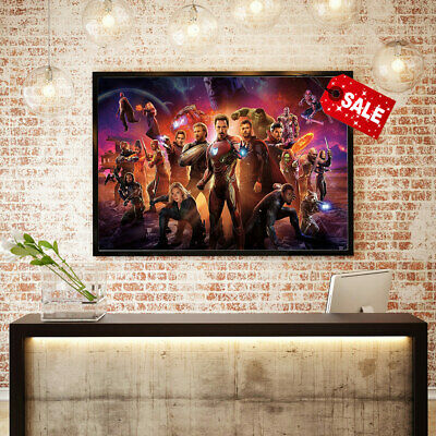Art Hd Print on Canvas Avengers: Endgame for Home Wall Decoration Painting 16x24