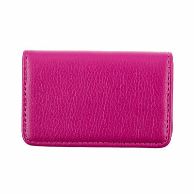 Unisex Outdoor Travel Certificate Name ID Credit Card Case Organizer Fuchsia