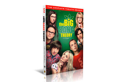 The Big Bang Theory Season 12 DVD Complete 3 discs 12th Box Set Brand New sealed